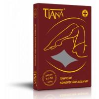 Чулки антиварикозные лечебные Tiana 340 DEN с компрессией 27-36 мм рт.ст., открытый носок арт. 965