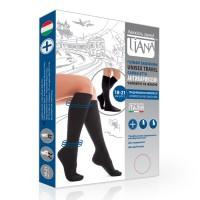 Хлопковые антиварикозные гольфы UNISEX Travel Tiana 140 DEN с компрессией 18-21 мм рт.ст., арт.955