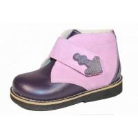 Детские ортопедические ботинки Теллус модель PV - 008, (Украина)