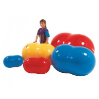 Киндербол бобовидной формы «Боб 700» - ? 70 см, длина 115 см (синий)
