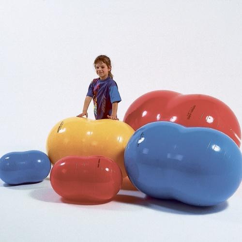 Киндербол бобовидной формы «Боб 550» -? 55 см, длина 90 см (желтый)