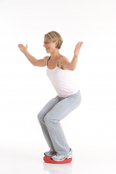 Подушка для сидения и тренировок Togu 'DYNAIR® SENSO® BALLKISSEN® XL', (Германия)
