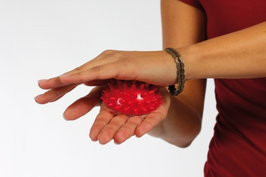Массажер Togu 'Semi knobbed ball', (Германия)