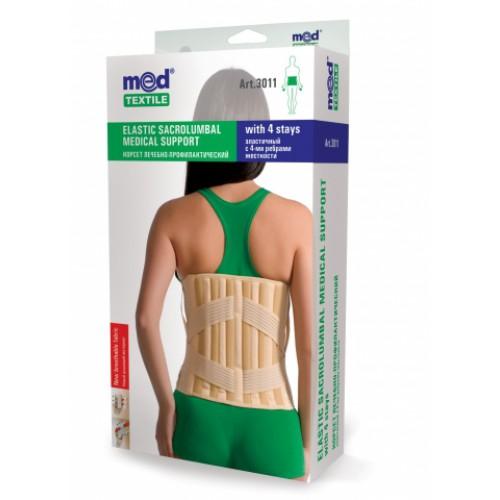 Корсет лечебно-профилактический 3011 Med textile, (Украина)