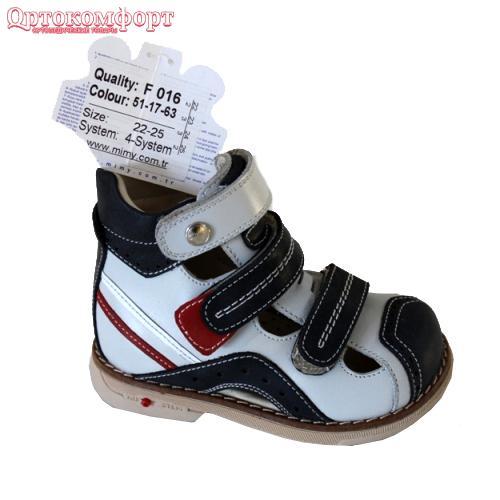 Ботинки ортопедические Mimy арт.F016, мод.51-17-63, (Турция)