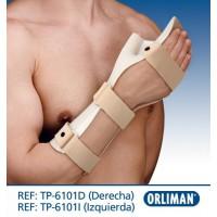 Шина для иммобилизации кисти TP-6101, Orliman (Испания)