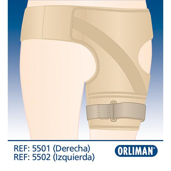 Бандаж набедренный 5501/5502, Orliman (Испания)