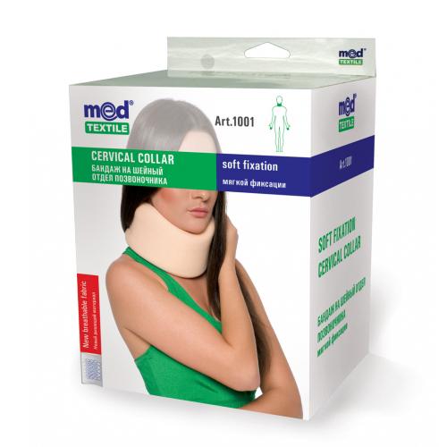 Бандаж мягкой фиксации на шейный отдел 1001 Med textile, (Украина)