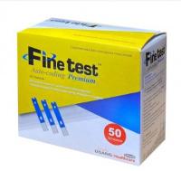 Тест-смужки для глюкометрів Finetest premium №50