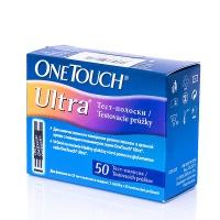 Тест-смужки для глюкометрів One Touch Ultra №25