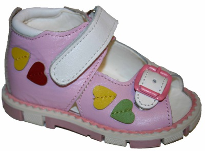 Ортопедические босоножки для девочек Таши Орто, (Турция)