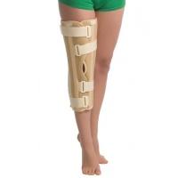Бандаж на коленный сустав с ребрами жесткости с усиленной фиксацией 6112 люкс Med textile, (Украина)