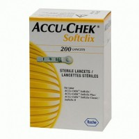 Ланцеты Accu-Chek Softclix № 200