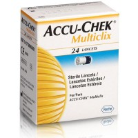 Ланцеты Accu-Chek Multiclix № 24