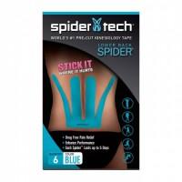 Кинезиологический тейп Spider Tech для поясницы, 6 шт