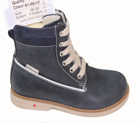 Ботинки ортопедические Mimy арт.R 015, мод.51-08-17, (Турция)