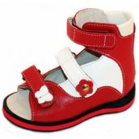 Детские ортопедические босоножки Ortofoot мод. 121 для девочек