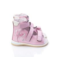 Дитячі ортопедичні босоніжки Ortofoot мод. 120 для дівчаток, без викладення зводу