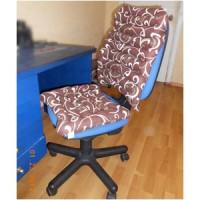 Сиденье Комплект офисный из гречневой шелухи, ткань Голд Лотос