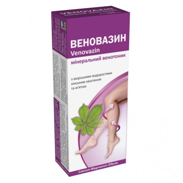 Природный минеральный гель Веновазин/Venovazin 100 мл