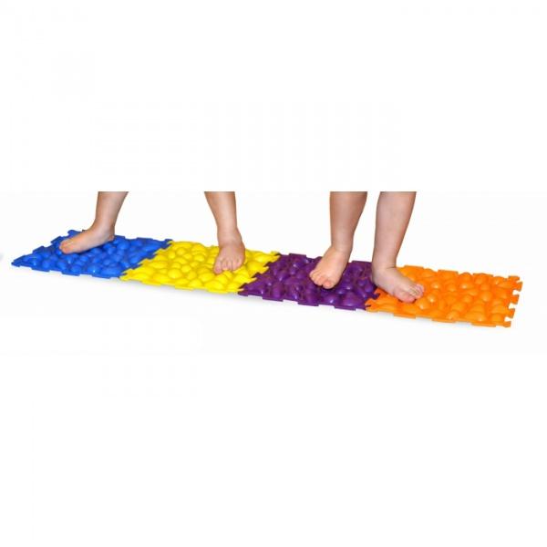Коврик массажный 'Здоровые ножки' 4 пазла
