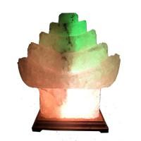 Светильник соляной Китайский домик 'Артёмсоль' 5-6 кг, с цветной лампочкой