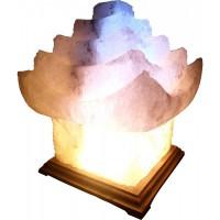 Світильник соляної Китайський будиночок 'Артемсіль' 5-6 кг, з кольоровою лампочкою