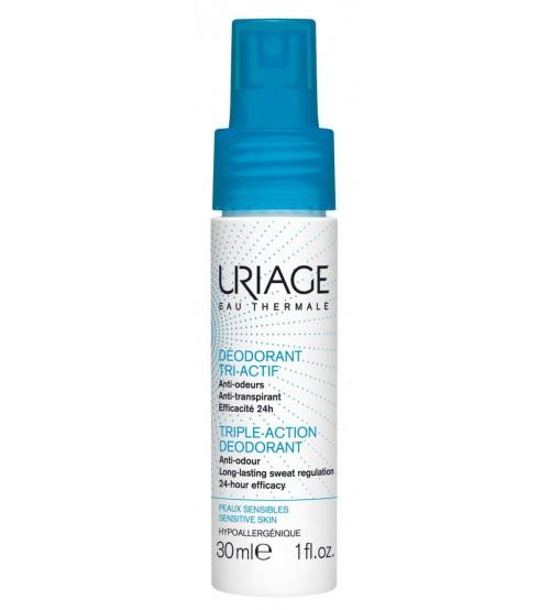 Дезодорант тройного действия Uriage Deodorant Tri-Actif 30 мл