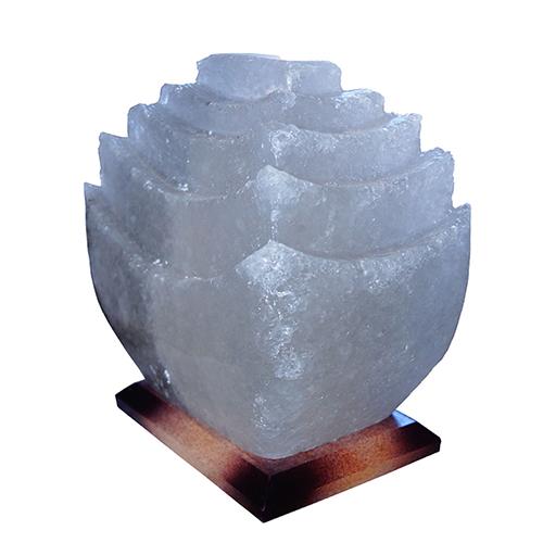 Светильник соляной Пагода 'Saltlamp' 5-6 кг с цветной лампочкой