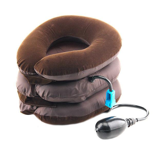 Лечебный воротник с системой пневматического вытяжения тип 2