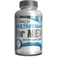 Вітаміни BT Multivitamin for Men (MEN_S PERFORMANCE) 60 табл BioTech