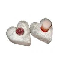 Подсвечник соляной SW-1115-1 Сердце 'Соляна' 2 кг