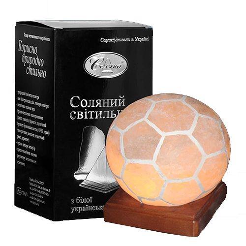 Светильник соляной Мяч 'Соляна' 3 кг