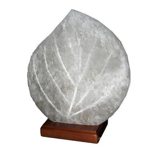 Светильник соляной Листик 'Соляна' 3-4 кг
