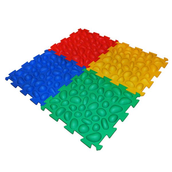 Массажный коврик Пазлы (4 элемента) Ортек