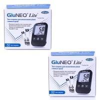Тест-полоски для глюкометров GluNeo Lite №50 +