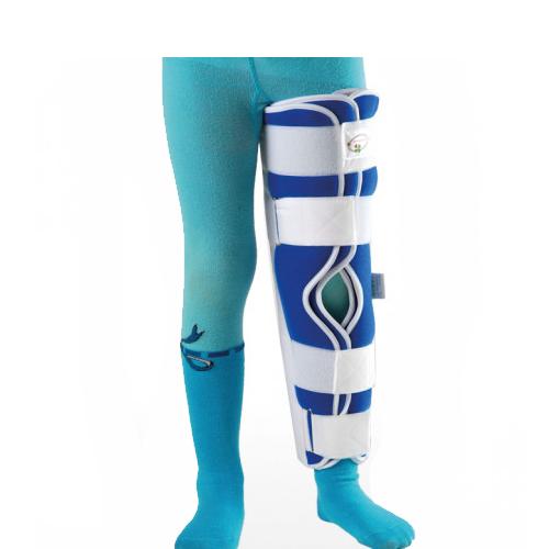 Детская жесткая шина для ноги, Тутор-3Н UNIр-3 Реабилитимед, (Украина)