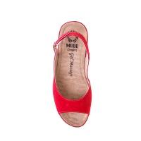 Босоножки женские VESUVIO RED 505, Mubb