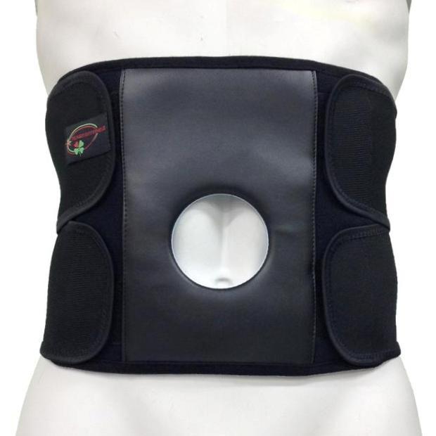 Приспособление ортопедическое для спины и мышц брюшной стенки с отверстием под стому «Стронг» С-3С (XXL-XXXL) Реабилитимед