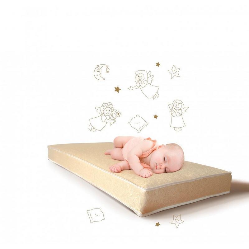 Матрац детский Холлофайбер Lux baby 120х60 (высота 6, 8, 10, 12)