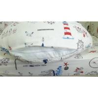 Подушка для беременных и кормления Паруса 90х90 Lux baby