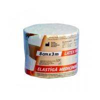 Бинт медицинский эластичный 2 Latex Free 8смх3м Lauma