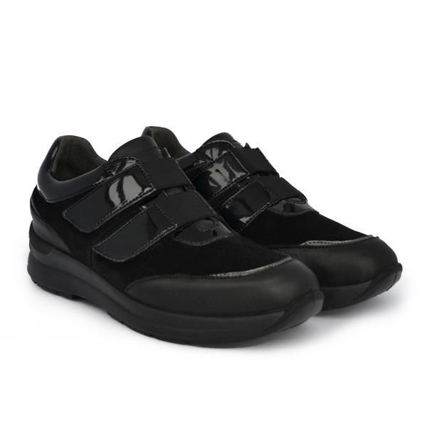 Туфли женские S3500 Nappa/Camoscio Nero Sabatini