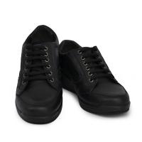 Женские туфли H9303 Nappa Pelle Nero Hergos