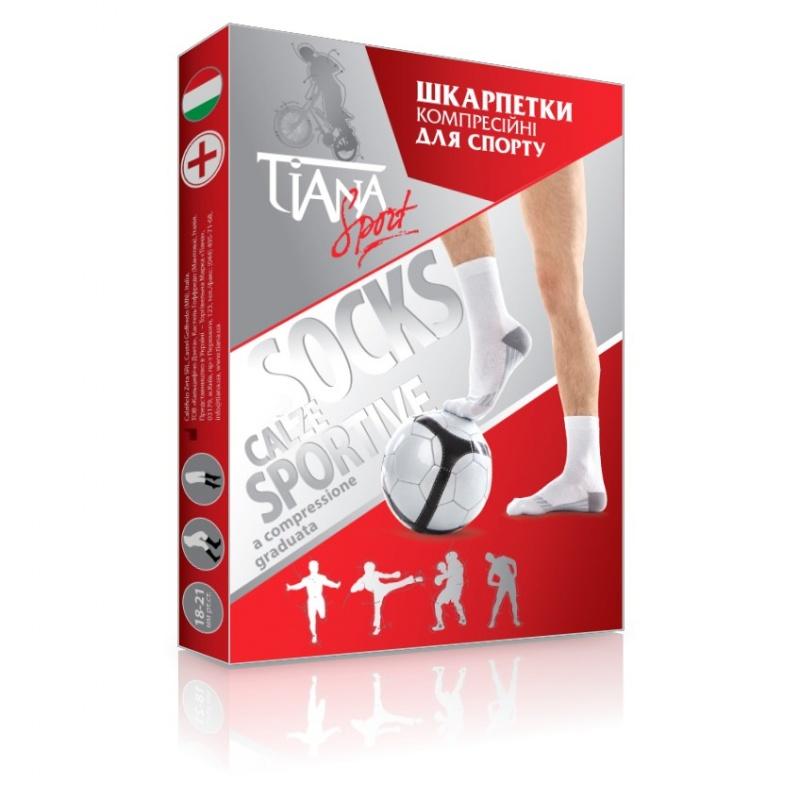 Гольфы, носки антиварикозные компрессионные для спорта Tiana 18-21 мм рс ст., арт. 755