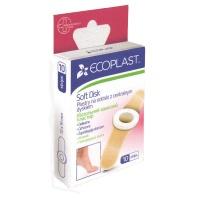 Мозольный защитный пластырь СофтДиск 10 шт ЄCOPLAST
