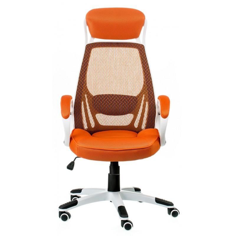 Кресло эргономичное Briz orange Special4You