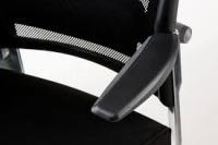 Кресло эргономическое FULKRUM BLACK FABRIC, BLACK MESH Special4You
