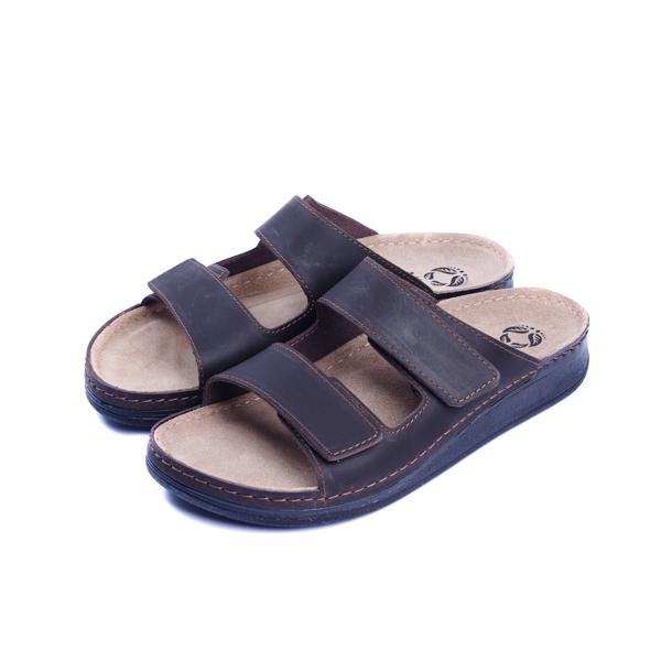 Мужские кожаные тапочки RAMON 3411, Mubb