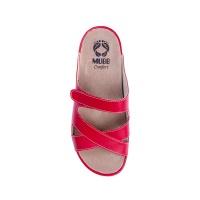 Шлепанцы женские NAPPA RED 782 Mubb